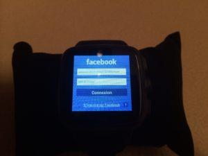 facebook sur Omate TrueSmart