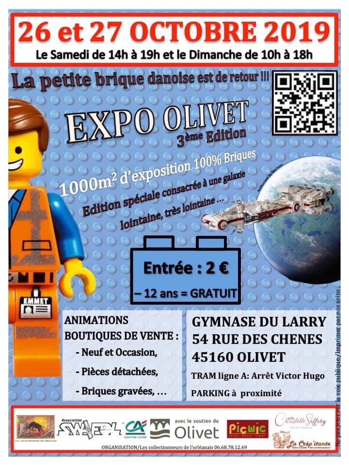 Affiche de l'exposition d'Olivet